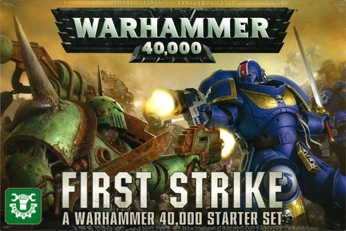 - Games Workshop Warhammer 40,000 First Strike