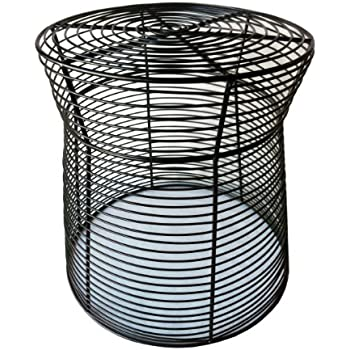 Amazon Com Pangaea Home And Garden Metal Wire Side Table