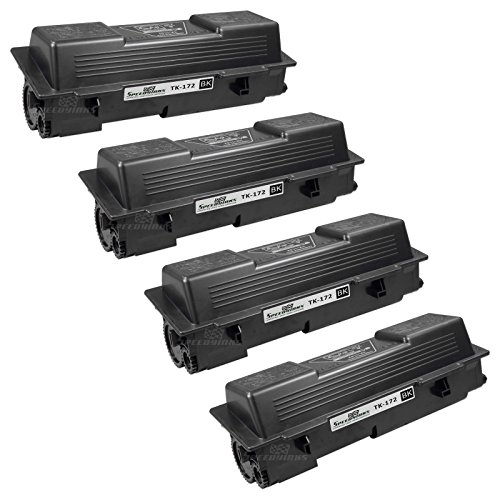 Speedy Inks - 4 Pack Compatible Kyocera Mita Black TK-172 Laser Toner Cartridge for use in FS-1320D and FS-1370DN Printers