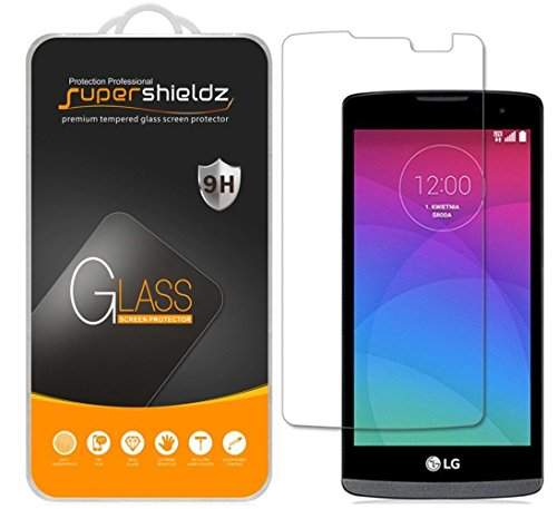 Supershieldz- LG Tribute 2 / Tribute Duo [Tempered Glass] Screen Protector Premium 9H Ballistics Glass Screen Protector Featuring Anti-Scratch, Anti-Fingerprint, Bubble Free , Clear [1 Pack]