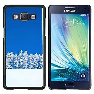 TECHCASE---Cubierta de la caja de protección para la piel dura ** Samsung Galaxy A5 ( A5000 ) 2014 Version ** --Sunset Beautiful Nature 39