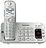 Panasonic KX-TGE470S Link2Cell Bluetooth Enabled Phone with Answering Machine Silver/White (Certified Refurbished) (base unit for KX-TGE474S & KX-TGE475S)