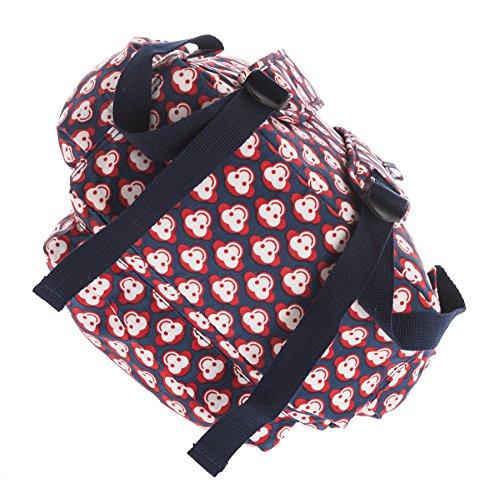 In Funky Lightweight Style Backpack Monkey Various Sizes Rucksack 2 Fabric Handbag Shop Big Unisex Rainproof 48Hq8w