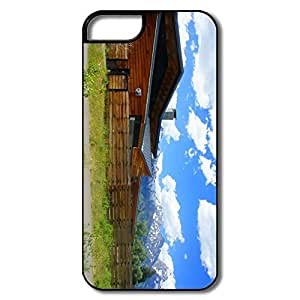 Lovely Full Protection Scenic House Iphone 5s Case
