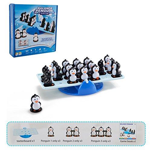 バランスペンギン バランスゲーム シーソーバランス 人気ゲーム - Happytime クリエイティブ ボードゲーム 小学生 脳トレ 親子 おもちゃ 知育玩具