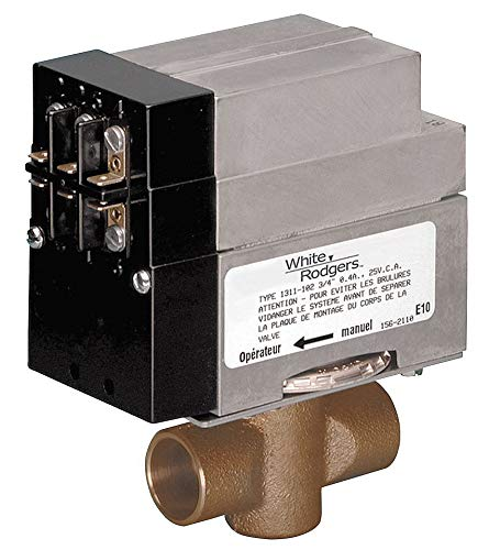 White Rodgers 1361-102 Motorized Zone Valve | 3/4 In from White Rodgers