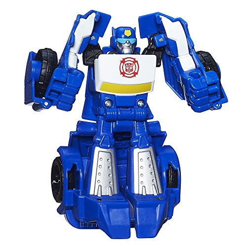 Playskool Heroes Transformers Rescue Bots Chase the Police-Bot (Chase Rescue Bot)