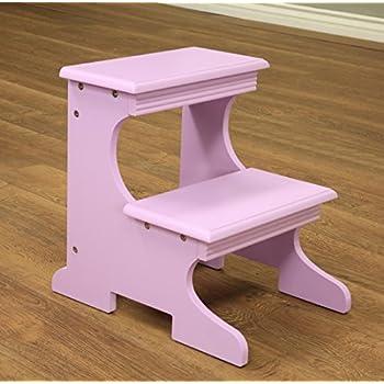 Amazon Com Frenchi Home Furnishing Step Stool Purple
