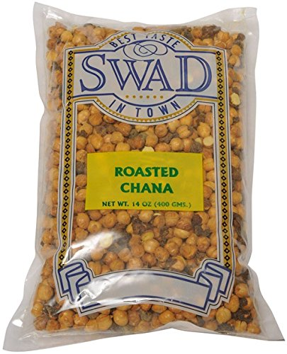 Price comparison product image Great Bazaar Swad Roasted Chana with Haldi, 14 Ounce