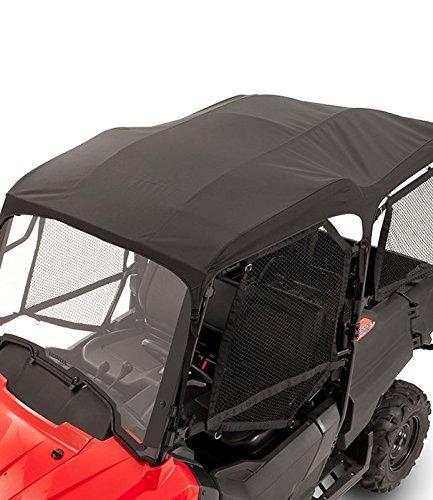 2014-2019 GENUINE HONDA PIONEER 700 4P 4 PERSON BLACK SOFT BIMINI CANVAS TOP 0SR85-HL3-323A (Best Windshield For Honda Pioneer 1000)