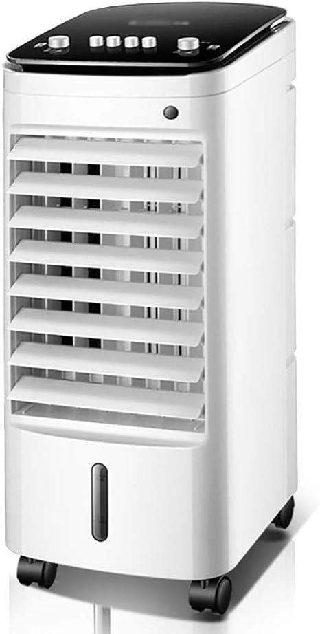 Ventilador electrico Refrigerador de aire, deshumidificador, ventilador purificador de aire, ventilador de aire acondicionado de refrigeración, ventilador vertical sin ventilador, enfriador evaporativ: Amazon.es: Hogar