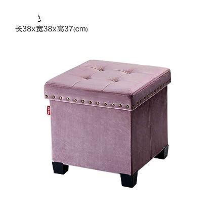 Superb Amazon Com Qtkk Foldable Storage Stool Fabric Toy Storage Creativecarmelina Interior Chair Design Creativecarmelinacom