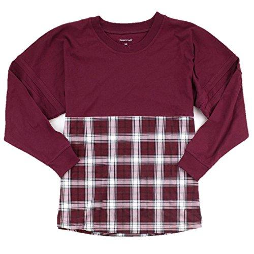 BUNDLE: Boxercraft Spirit Jersey Heavy Shirt & 10% off coupon,(Maroon/White (Spirit Jerseys Wholesale)