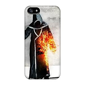 ArtCover LHqrL6979lzFjI Protective Case For Iphone 5/5s(grim Reaper)