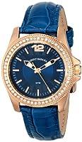 Tommy Bahama Swiss Women's TB2129 Riviera Blue Strap Silver Dial Stone Bezel Watch from Tommy Bahama Swiss