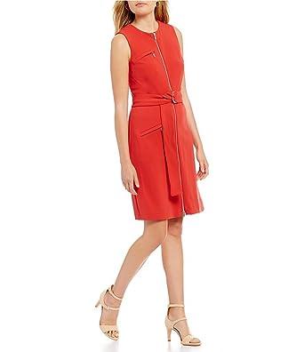 2862137a8d9 Antonio Melani Twiggy Sateen Shift Dress (6) at Amazon Women s ...