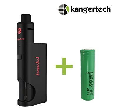 Kangertech DRIPBOX Kit + Bateria Recargable Samsung 25R de 2500 mAh - Color Negro