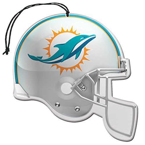 Miami Colors Dolphins (Team ProMark NFL Miami Dolphins Air Freshener (3 Pack), One Size, One Color)