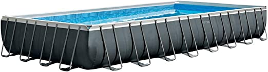 Intex 26374NP - Piscina desmontable Ultra XTR Frame 975 x 488 x ...