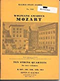 img - for Mozart Ten Famous Quartets for two violins, viola and cello (Kalmus Chamber Music Series, Volume I) book / textbook / text book