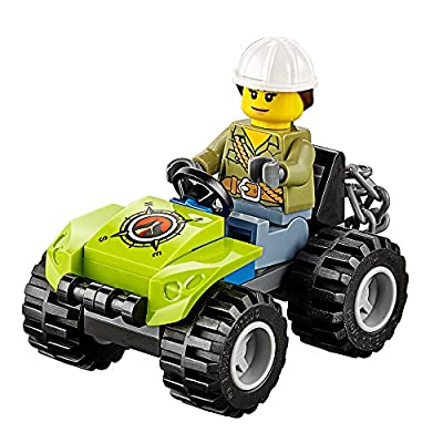 LEGO City Volcano Explorers Volcano Crawler 60122 Creative Play Building Toy: Toys & Games