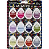Tsukineko 12-Piece Assortment Memento Dew Drops