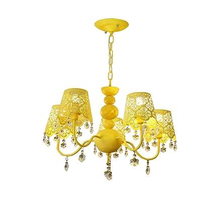 Amazoncom FriendShip Shop Chandelier Crystal Chandelier Girl - Yellow chandelier crystals