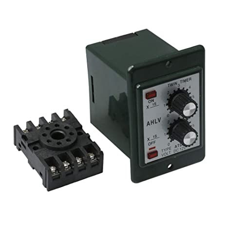 Mxfans DC 12V Delay Timer Repeat Cycle Time Relay Range 0-6s ... on