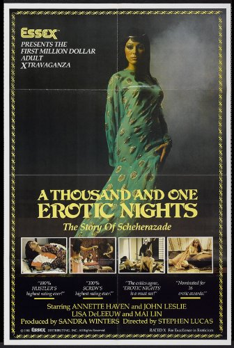 One thousand and one erotic nights