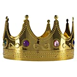 king central - Forum Novelties Fun Central AY970 Regal Party King of Crowns, K Costume Kids, Jeweled Go