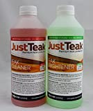 JustTeak - 2L Teak Cleaner and Brightener Kit (2.11 quarts)