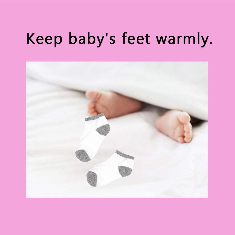 Toddler Baby Socks 16 Pack Ankle Low cut toddler Socks Boys Girls