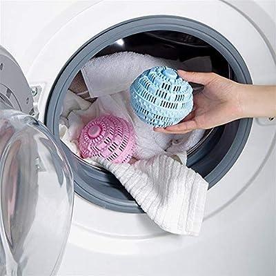 King Boutiques 1Pcs Bola de Limpieza de lavandería Sin detergente ...