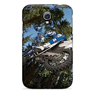 New Acrobatics Jumps Motocross Tpu Case Cover, Anti-scratch Jkv6938nHfd Phone Case For Galaxy S4