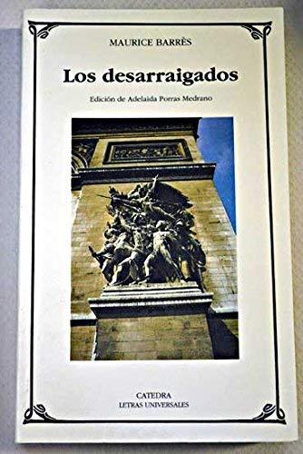 Los desarraigados (Letras Universales (catedra)): Amazon.es: Maurice Barres: Libros