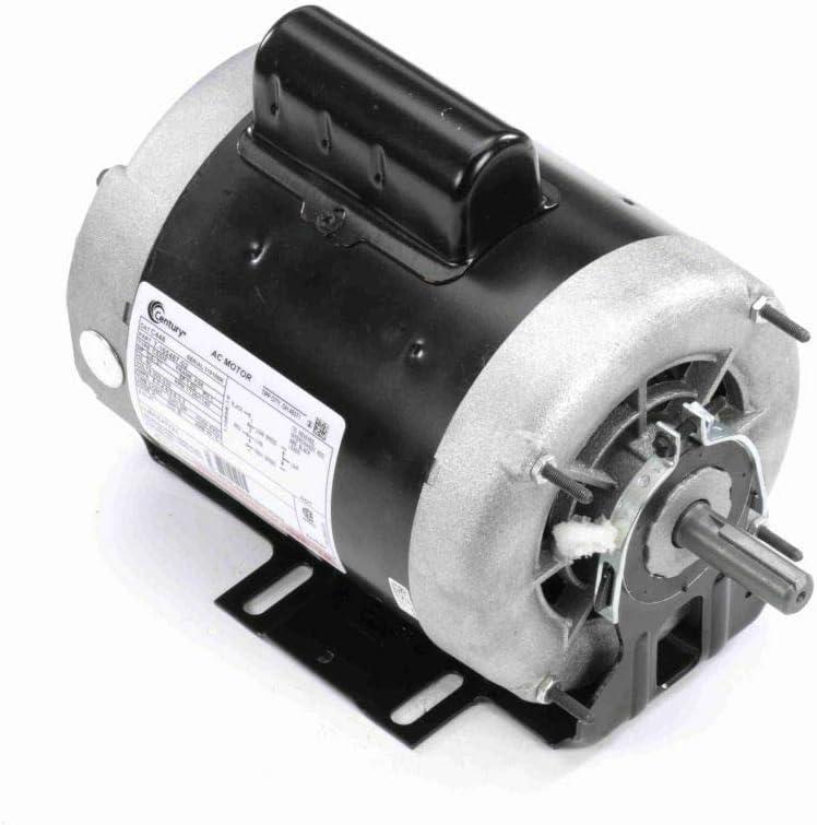 Century AO Smith C448 Cap Start Resilient Motor, 3/4, 1/5 HP, 1725, 1140 RPM, 208-230V, 56 Frame