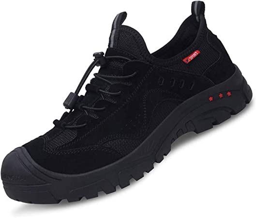 SHARESUN Zapatos De Seguridad Mujeres De Los Hombres, Zapatos De Punta De Acero De Trabajo, A Prueba De Pinchazos Seguridad Zapatillas De Deporte, 2020 Nuevo,Negro,45 EU: Amazon.es: Hogar