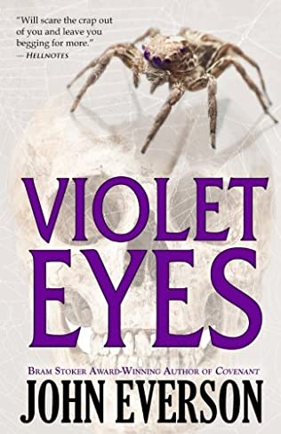 book cover of Violet Eyes