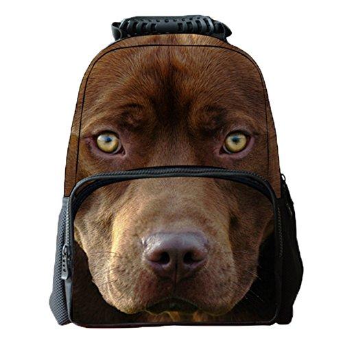 Ohmais 3D Tier Rücksack Rucksäcke Backpack Daypack Schulranzen Schulrucksack Wanderrucksack Schultasche Rucksack für Schülerin
