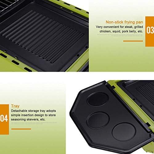 REDSHORE Barbecue Pliant léger ? Profession Grand Barbecue Portable Outils de Four à Charbon pour la Cuisine en Plein air Roadtrip Camping Randonnée Pique-Nique