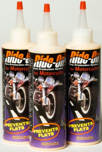 Ride-On Motorcycle Tire Sealant-3 bottles