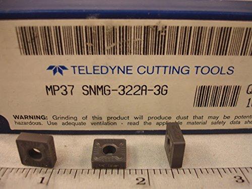 Teledyne - Snmg 322A Mp37 Teledyne Carbide Inserts (10Pcs) New&Original