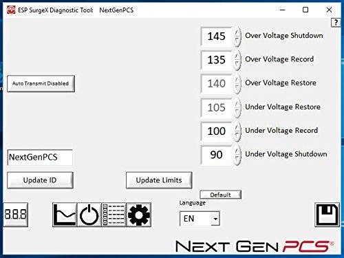 ESP Next Gen Surge Protector/Noise Filter/Power Monitor, (Model # XG-PCS-20D) - 120 Volt, 20 Amp with NEMA 5-20 Connectors by ESP (Image #4)