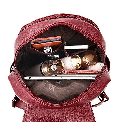 Il Daypacks Borsa 31 Signore Scuola Grigio 27 A Zaino Morbide Girls Della Mimi College 13cm Re Per Tracolla Tessuto Casuale Fashion BZC7wqwx