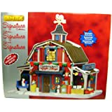 Lemax 35536 Country Barn Gift Shop Christmas Village Building Decor