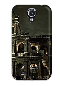 New Colosseum Roman Architecture Tpu Skin Case Compatible With Galaxy S4