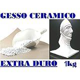 Yeso polvo 1kg alta calidad' de cerámica no tóxico COLABILE tipo extra-dura 4 dental.Alta Definición y resistencia.Grande para tizas Profumati. Perfecto para Castings moho en silic