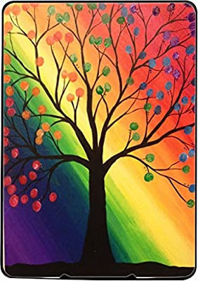 Rainbow Tree Spring Bloom Kindle Paperwhite Vinyl Decal Sticker Skin by Debbie's Designs by Debbie's Designs