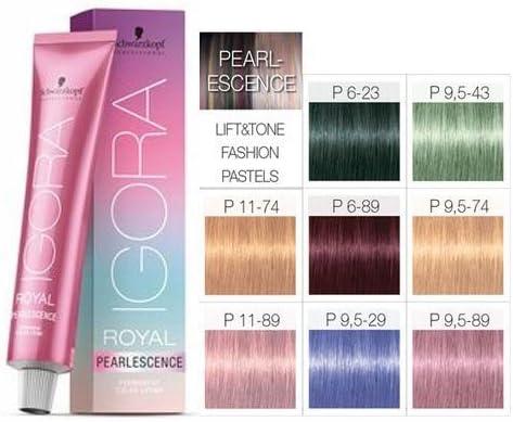 Schwarzkopf Igora Royal pearlescence Hair Colour 60 ml – 9.5 ...