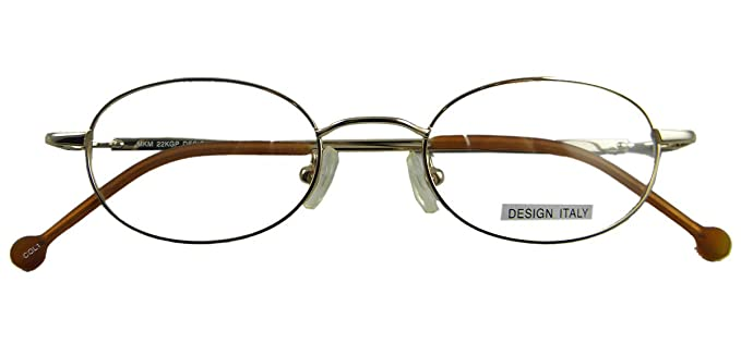 562b6012e4e9 Opticaleyeglass Men Women Eyeglass Frames Metal Vintage Round oval  44-19-135 (